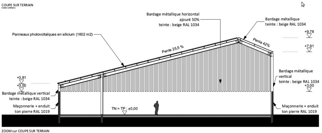 hangar 1800 m2 gratuit